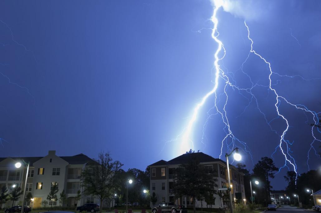 Blitz - Überspannungsschutz