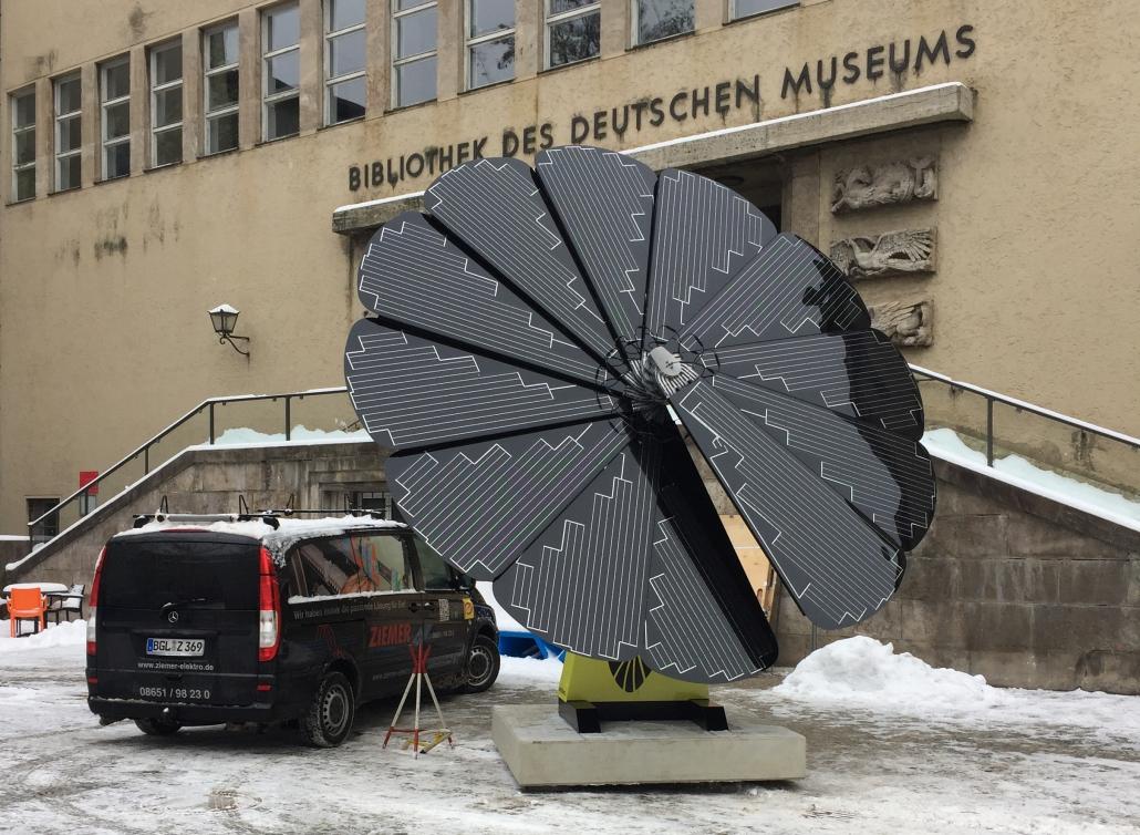 ZIEMER Smartflower Deutsches Museum München